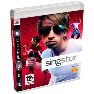 SingStar on the PS3 PackShot