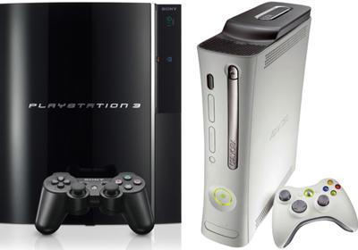 PS3 v XBox 360