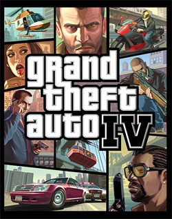 Grand Theft Auto 4 Box Art